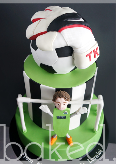 Newcastle United Tim Krul Birthday Cake