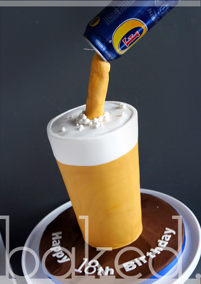 Magic Pouring Pint Cake