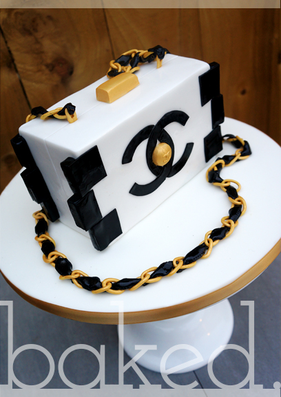 Chanel Lego Clutch Cake