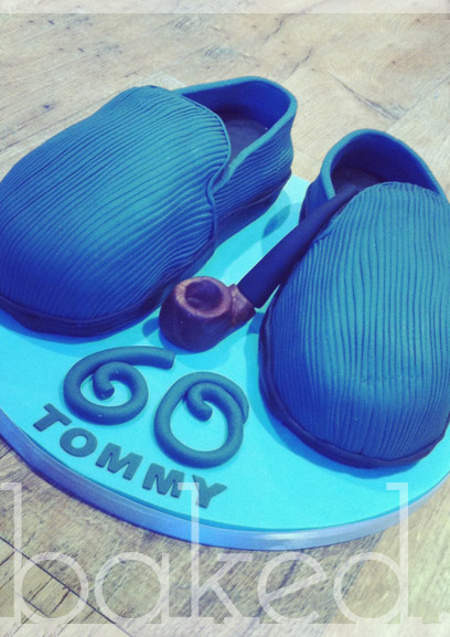 Slipper and Pipe Cake