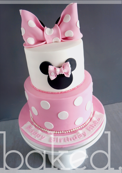 >Minnie Mouse Birthday Cake Sunderland