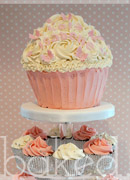 Christening Baby Cupcake Tower