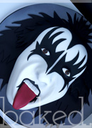 Gene Simmons Kiss Cake