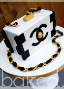 Chanel Clutch Bag Cake