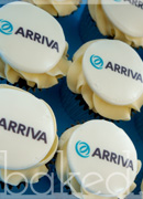 Arriva Branded Cupcakes