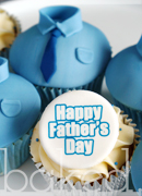Fathers Day Shirt Cupcakes