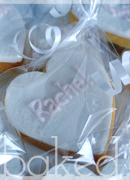 Lace Cookie Favours and Place Settings