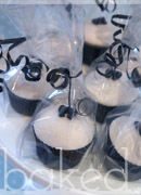 Little Bow Wedding Cupcake Favours