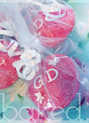 Lace Guest Initial Wedding Favours