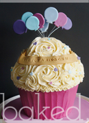 Engagement Giant Cupcake
