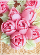 Mother's Day Rose Cupcake gift box