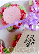 Mother's Day Buttercream Rose Cupcake box