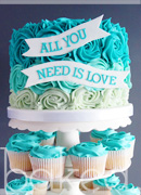 All you need is love cake