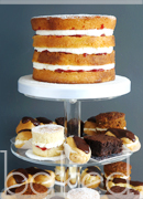 Mini Dessert Wedding Tower